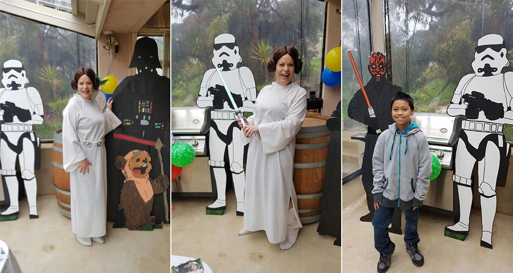 Classic Katering Star Wars Birthday Party